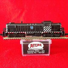 42303 Atlas N Scale RSD 4/5 ATSF NIB