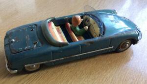 FRICTION-DRIVE CITROEN TINPLATE CAR.