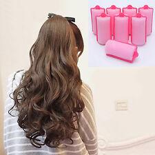 Eg _ Hk- 12 Pièces Magie Trendy Mousse Coussin Coiffure Cheveux Rouleaux