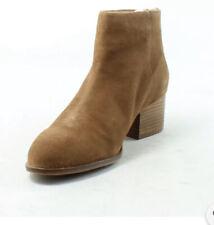 ANTHROPOLOGIE SEYCHELLES Floodplain Cognac Ankle Boots Size 8.5