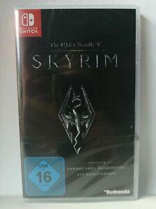 The Elder Scrolls V 5 Skyrim - Nintendo Switch - OVP NEU SEALED
