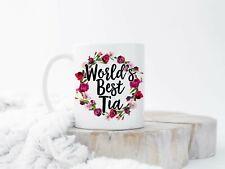 World's Best Tia Mug Tia Est 2018 Spanish Aunt Tia Coffee Mug New Tia Mug Gift