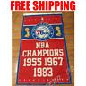 Philadelphia 76ers Champions Flag NBA Basketball Banner 3X5 ft 2 Gromments