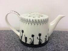 Teekanne vegan ohne Knochenasche Katzen Brillantporzellan Kanne Kaffee Tee WOW