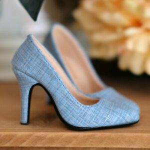 1/3SD16/DD BJD Shoes Stilettos Pointed-toe High Heels Plaid Vamp AF Multi-colors