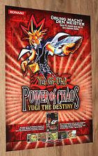 Power of Chaos Yugi the Destiny Sealed Promo Pack NM Yugioh 7YR