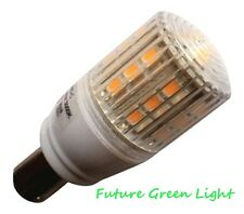 B15 SBC 24 SMD LED 3.8W 350LM 240V WARM WHITE BULB WITH COVER ~50W