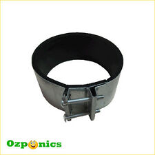 """2x 6"""" NOISE REDUCER CLAMP HYDROPONICS INLINE FILTER FAN DUCTING CONNECTOR"""