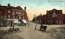 Epsom. Station Road by Valentine's # 58370. Chilton & Paine, Drapers.