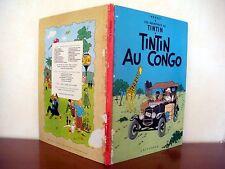 Tintin au Congo (B 39) Hergé 1970