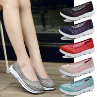 Womens Comfort Shoes Outdoor Fashion Lightweight Breathable Casual Walking Shoes