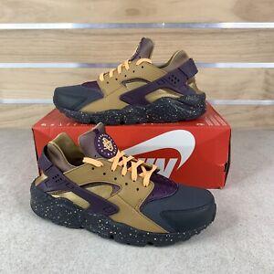Nike Air Huarache Run PRM 704830-012 Anthracite Men's Running Shoes Sz 9.5