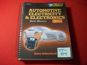 TODAY'S TECHNICIAN SERIES EDUCATIONAL PROGRAM- AUTO ELECTRICITY & ELECTRONICS VG