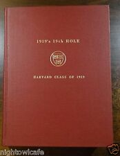 1919's 19th Hole HARVARD CLASS OF 1919 Rare Book Compilation of 45 Issues