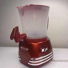 Nostalgia Retro 50s Style Hot Chocolate Maker 32oz Capacity Red FREE SHIP