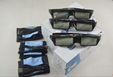 3 X  RF3D Active Rechargeable Glasses  Substitute for Epson RF 3D Glasses  ELPGS