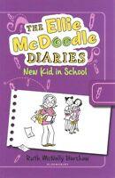 (Very Good)-The Ellie McDoodle Diaries: New Kid in School (Paperback)-Barshaw, R