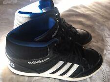 Adidas Hight Top Negro y Blanco Sneekers 4.5