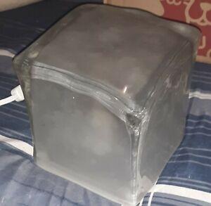 Rare Vintage IKEA Iviken Light Modern Ice Cube Table Lamp WORKING GREAT