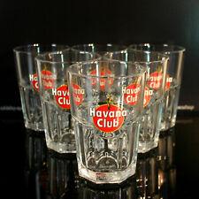 6x Havana Club Rum Cocktail Mojito Cuba Libre Bar Glas/ Gläser 6 Stück Neu OVP