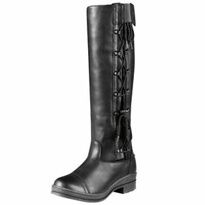 ARIAT 55701 Heritage Contour Crowne Leather BOOT Black  UK 6.5//EU 40   157 W