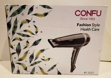 Lightweight Professional Ionic Hair Dryer CONFU 1875W Fast Drying Quiet Blow B1