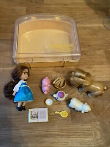 Disney Store Animators Collection Mini Doll Playset - BELLE