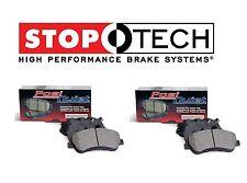 For Chrysler Crossfire Front & Rear PQ Ceramic Brake Pads Set Kit StopTech