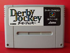 Derby Jockey Jeu NTSC Super Famicom SNES Nintendo Import Japon