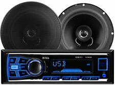 BOSS Car Stereo Player Audio Radio Music System Sound AUX MP3 USB SD Speakers