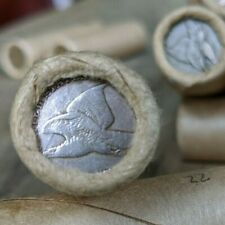 One Wheat Cent Roll w/ 1857 Flying Eagle End Coin Strong Eye Detail - Lot #12