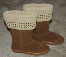 DEREON Boots Brown, 7.5