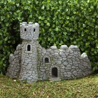 The Dragon's Keep Fairy House: Fiddlehead Fairy Gardens Miniature Garden
