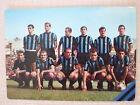 CARTOLINA CALCIO SQUADRA INTER F.C. INTERNAZIONALE 1966/1967 SCUDETTO PICCHI VIN