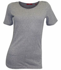 S. Oliver Shirt T-Shirt Size 38 Grey Marl Cotton Blend NEW