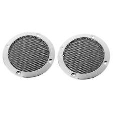 "3"" inch Black Audio Speaker Cover Decorative Circle Metal Mesh Grille 2 Pcs"