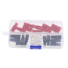 10 Pairs Quick Disconnect Power Terminals Connectors 30 Amp Red Black Kit