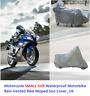 Moto Misura Piccola Impermeabile Pioggia Ventilato Motorino Sun Copertura_UK
