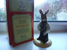 ROYAL DOULTON BUNNYKINS ENGLAND VICAR DB254.INTERNATIONAL C.CLUB PIECE MIB