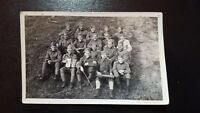 ORIGINAL PHOTOGRAPHY WW2/ ROYAL SERBIAN SOLDIERS IN CAPTIVITY / GERMANY-STALAG