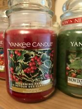 New Large Yankee Candle  FREE POST