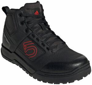 Five Ten Impact Pro Mid Flat Shoes | Core Black/Red/Core Black | 10.5