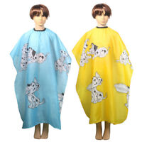 Kids Cartoon Dressing Cape Salon Gown Cover Barber Hair Cut Cloth Hairdresser