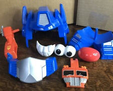 Mr. Potato Head Playskool Transformers Optimus Prime Optimash Prime Not Complete
