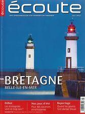 écoute, Ausgabe Juli 07/2012 - Französisch-Magazin  +++ wie neu +++