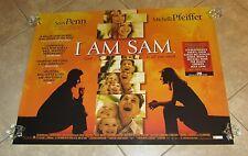 I AM SAM movie poster SEAN PENN poster, MICHELL PFEIFFER poster