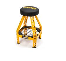 🔥BRAND NEW🔥 DEWALT 360-Degree Swiveling Foam-Padded Seat Shop Stool DXSTFH030