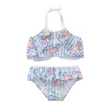 1fdb27334a NWT Janie and Jack Girls Summer Sun Paisley Ruffle 2 pc Girls Swimsuit 3T