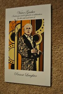 Noel Coward - Present Laughter - SIGNED Cast Party Invitation