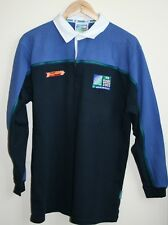 Genuine World Cup iRB Rugby 2003 Cup Collection Polo Shirt Size M Striped Mens